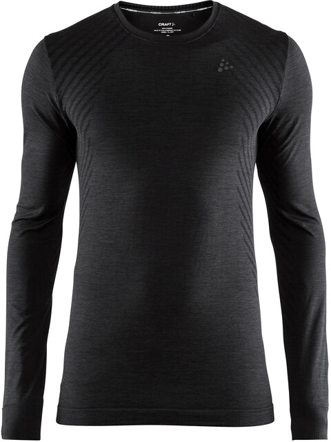 Craft M's Fuseknit Comfort Roundneck Longsleeve Black